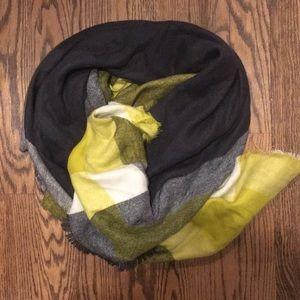Zara chunky wool scarf